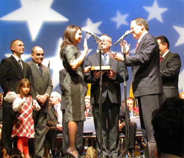 Maria Rodriguez-Gregg oath