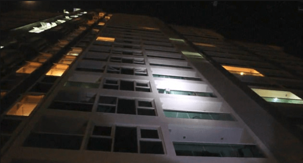 Police said Wannipa and Vella had been having what translates as 'fancy or extravagant' sex on the balcony of this hotel before Wannipa fell to her death