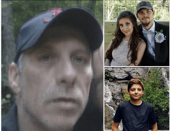 Alabama dad, Tony Parker, shoots 12-year-old son, 19-year-old daughter and her fiancé to death then kills himself in triple murder suicide