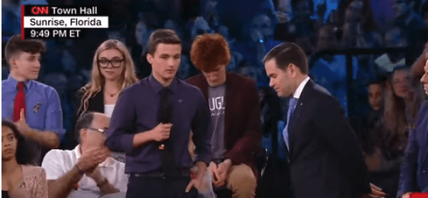 Cameron Kasky, Marjory Stoneman Douglas high school shooting survivor demands Senator Marco Rubio reject NRA money