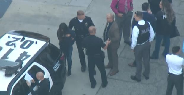 Female suspect at Salvador Castro Middle School in custody
