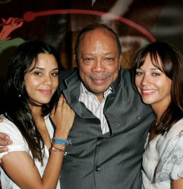 Kidada Jones, Quincy Jones and Rashida Jones.jpg