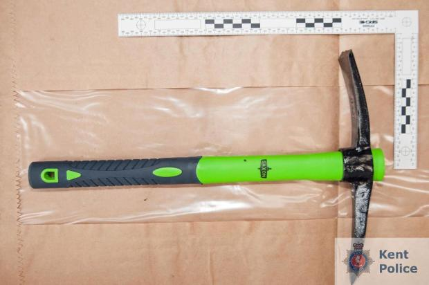 Pick-axe allegedly seized by police following Molly McLaren's death.jpg