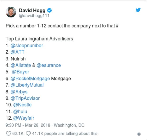 David Hogg goes after Laura Ingraham 1.png