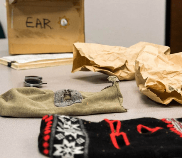 Recovered ski masks cops said The Golden state killer wore during his wave of burglaries 6.png
