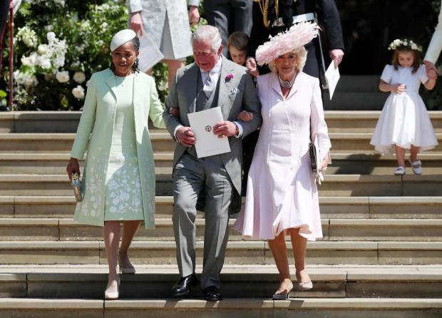 Doria Ragland, prince Charles and lady Carmilla Windsor 1