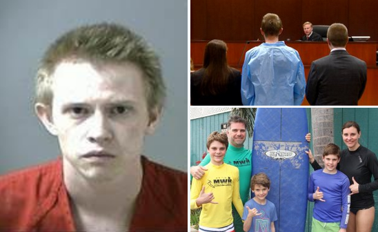 Jeremy Webster, 23, has confesses to 'Road rage shooting' of family at dentist's office, killing boy, 13, in front of his mother who was also critically injured along with another eight-year-old son