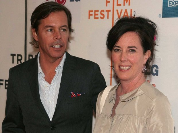 Kate SPade and her husband Andrew Spade 1