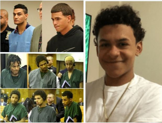 Father of underage girl in sex tape that led to gang machete attack on Bronx teenager, in case of 'mistaken identity' apologizes to Lesandro Guzman-Feliz's family, complains he's receiving death threats