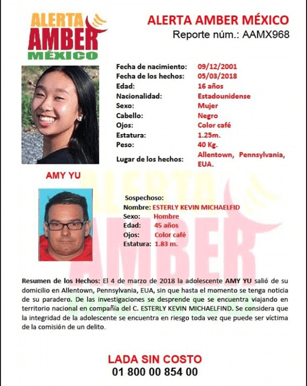 Amber alert for Kevin Easterly and Amy Yu issued in Mexico 1.png