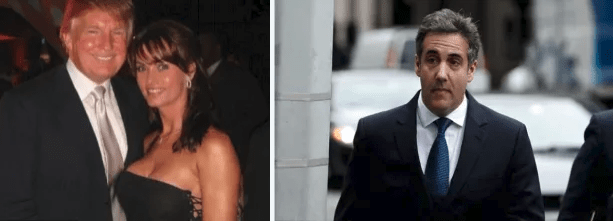 Amid speculation that former Trump lawyer Michael Cohen might flip - Revelation that Cohen made a recording of conversation with Trump about Playboy model who claims she had affair with Trump and took $150,000 payment