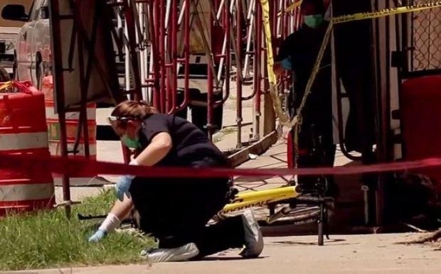 Dr Mark Hausknecht crime scene 2
