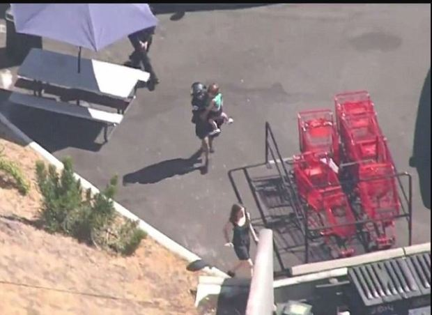 Gunman 'takes hostages and opens fire' inside a Trader Joe's in Los Angeles 2