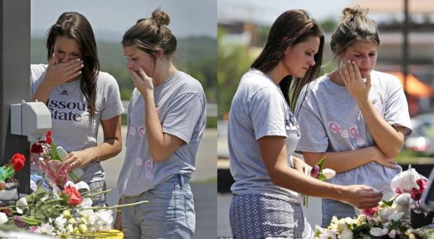 Mourners get emotional at memorial for Missouri Ozarks Duckboat crash victims 1.JPG