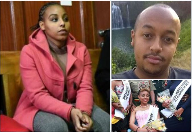Kenyan beauty queen, 24, accused of 'showing no remorse'  is sentenced to death for killing her boyfriend - Ruth Kamande stabbed the victim 22 times in a brutal stabbing rampage