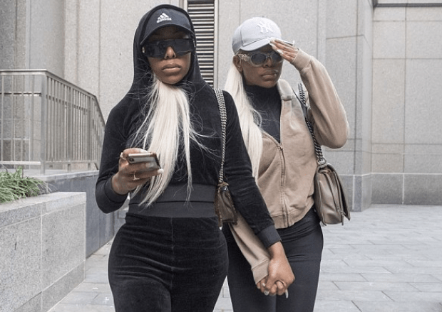 Shannade Clermont [left], with her  twin sister Shannon Clermont [left] 3.png