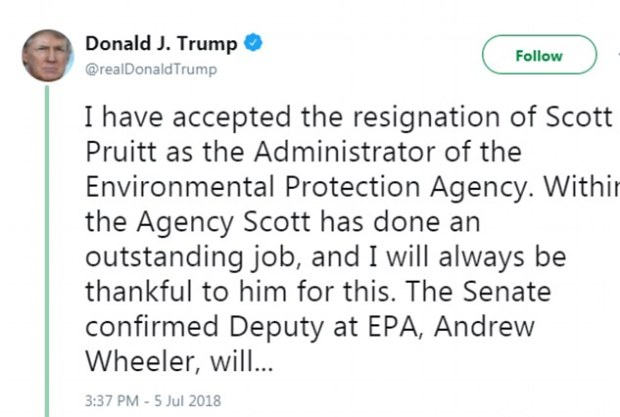 Trump tweet on Pruitt resignation 1.jpg
