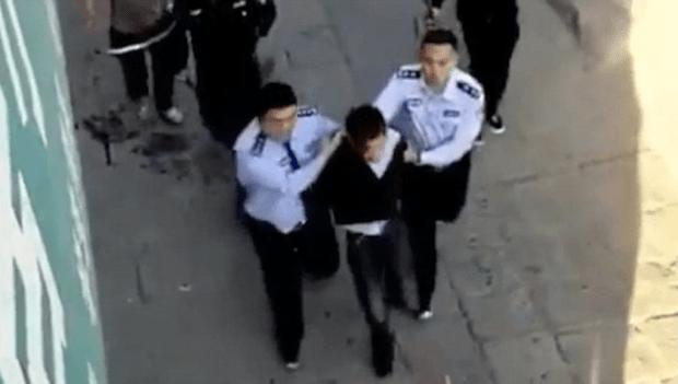 Zhao Zewei arrested 3