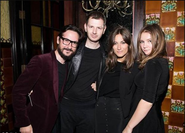 Guido Callarelli, the international stylist Gro Curtis, the influencer and designer Giorgia Tordini and Anna Delvey.