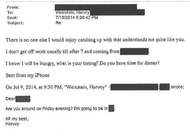 Harvey Weinstein's communication with alleged rape victim 34.jpg