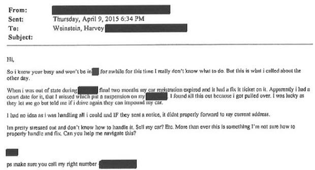 Harvey Weinstein's communication with alleged rape victim 38.jpg