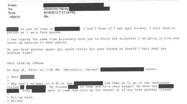 Harvey Weinstein's communication with alleged rape victim 6.jpg