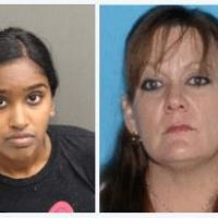 Bank employee, Amelia Bissoon, and her husband charged with murder of woman, 52, and her son, 22, to cover up their theft of $50,000 from the woman's dementia-ridden father's Chase Bank account
