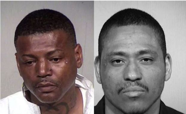 Melvin Harris [left], and Leon Armstrong [right] 1