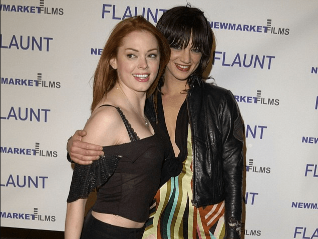 Rose McGowan[right],and Asia Argento [left] 1