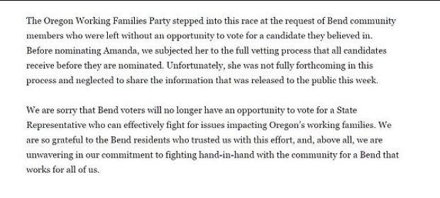 Amanda La Bell ends her campaign 5.JPG