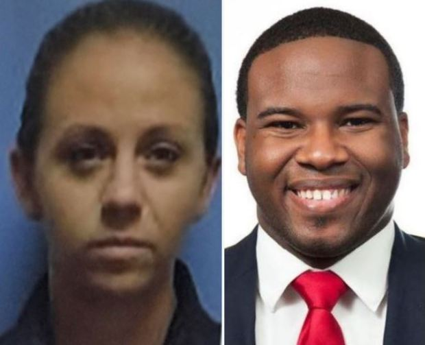 Amber Guyger and Botham Jean 5
