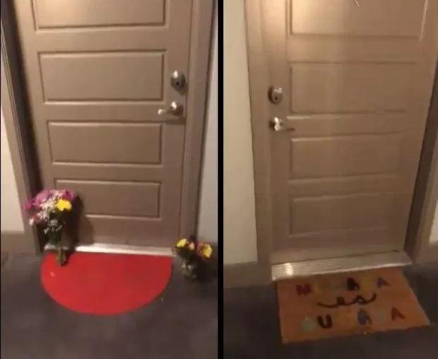 Botham Jeans's door  and Amber Renee Guyger's door.JPG