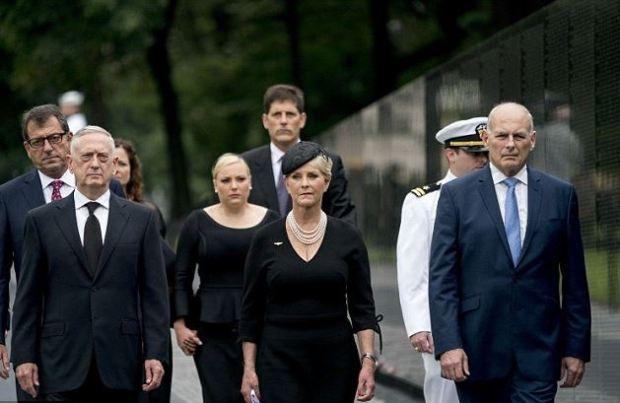 James Mattis with Cindy McCain 6