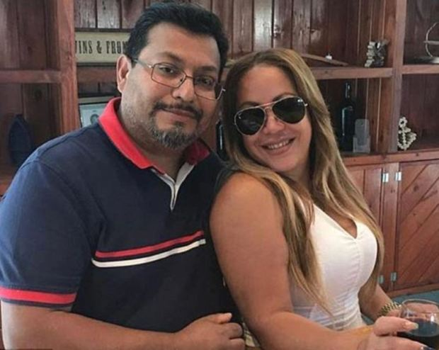 Ludwig Paz and his wife Arelis Peralta 1