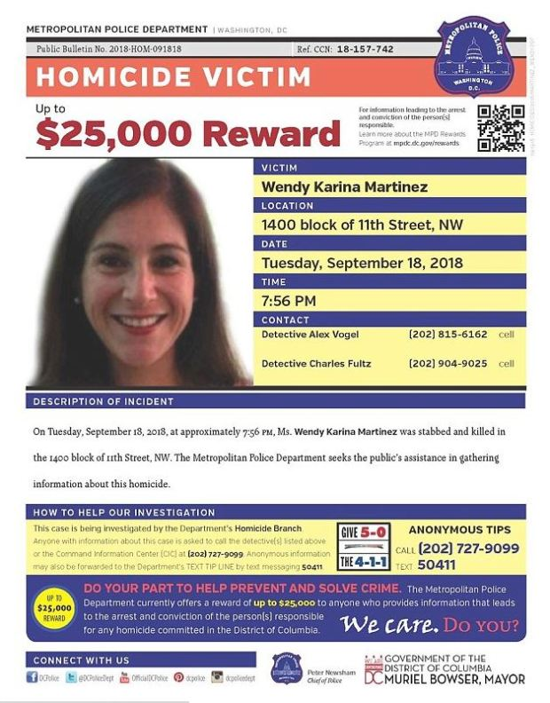 Police bulletin on Wendy Martinez.JPG