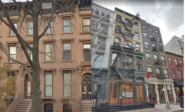 paul manafort's brownstone and his Soho condo in NY