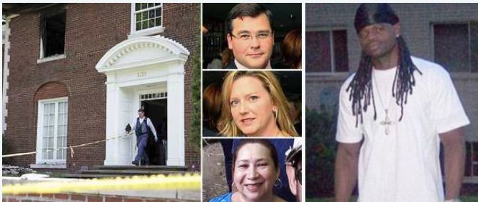 DC 'Mansion Murders' suspect Daron Wint, claims his brother set him up after luring him to the house where wealthy Savopoulos family and their maid were killed - Prosecution now say he may not have acted alone