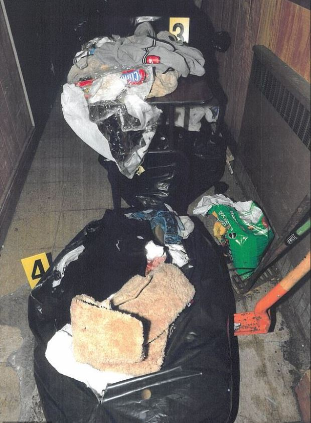 Evidence was found in the garbage near James Rackover's home in Manhattan, NY 2.JPG