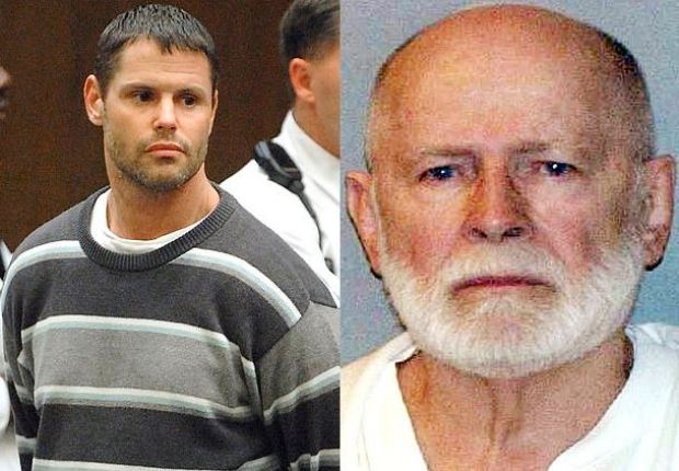 Fotios 'Freddy' Geas, [left], is suspected of killing of James 'Whitey' Bulger [right] 1