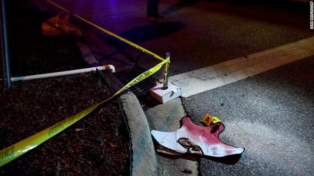 Investigators found bloody-soaked evidence and blood spatters on the ground after the 2-hour standoff in S Carolina on Oct 3.jpg