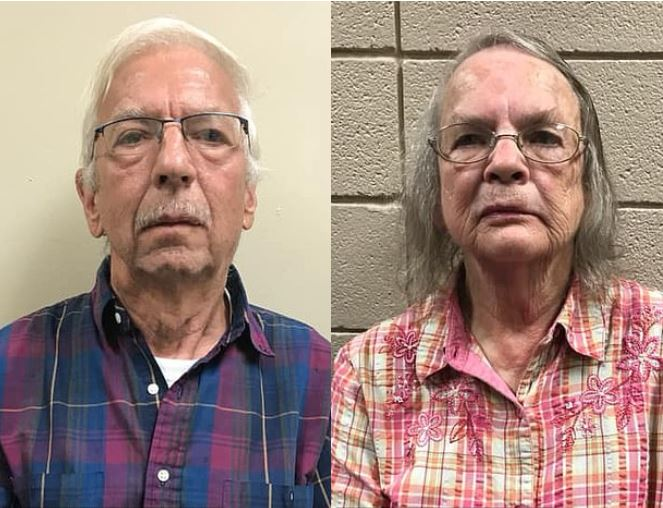 Long term feuding over a fence by elderly neighbors ends in murder - Husband and wife, Jasper Peeples, 69, and Barbara Peeples, 73, charged for shooting another couple