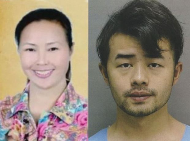 Liu Yun Gong and her son Yu Wei Gong, acused in her death and dismemberment 1