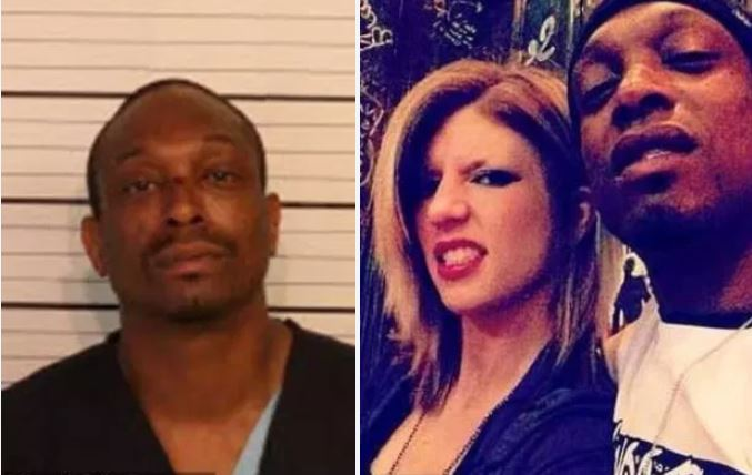 Man with history of domestic violence 'kills girlfriend, repeatedly running over her body with a car on their front lawn after smashing her with a brick' - Santrez Traylor faces aggravated murder in death of Amanda Petrowski