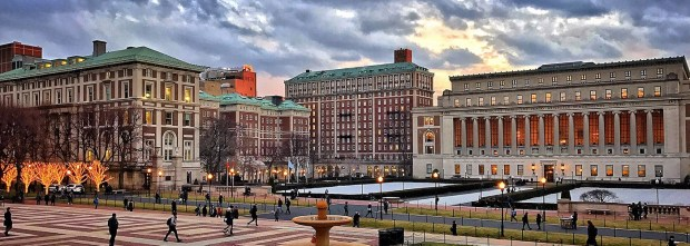 Columbia Univ Morningside Campus at Dusk 1.jpg