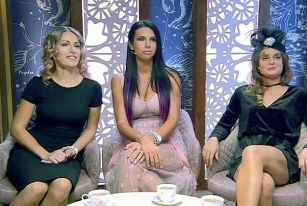 Evgenia Vorobiyova on Russian TV with hosts 1