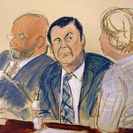 Joaquin 'El Chapo' Guzman in court 2