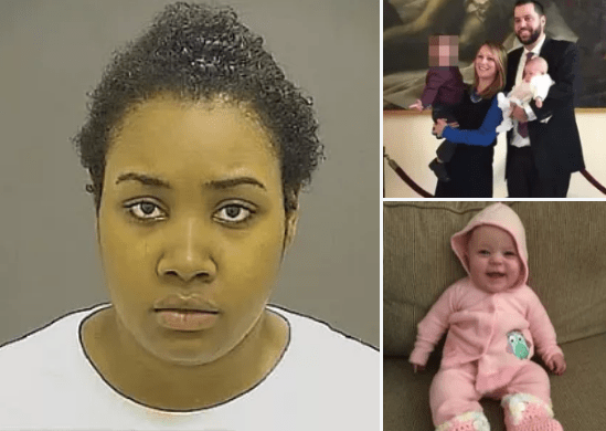 70 years in prison for Daycare worker, Reese Bowman, after admitting killing eight-month-old Reece Bowman -  suffocating her with a blanket after complaining she wouldn't sleep! Horrifying CCTV shows dying child thrashing her legs to escape