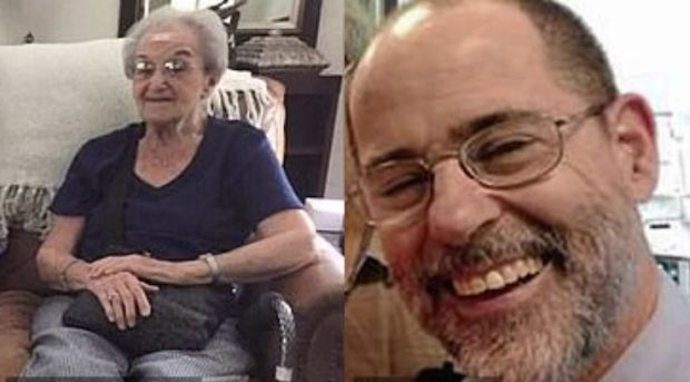 Rose Mallinger, [left] and Jerry Rabinowitz 1.JPG