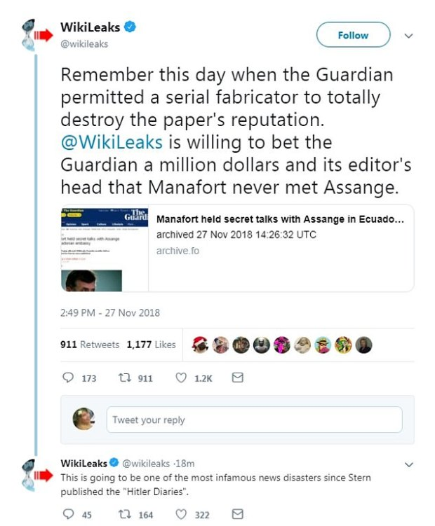 Wikileaks tweet on Guardian story.jpg