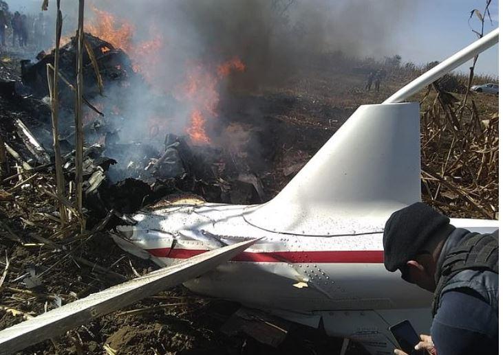 Martha Erika Alonso and her husband Rafael Moreno Valle Rosas were killed when their aircraft crashed